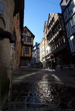 La rue Saint Romain