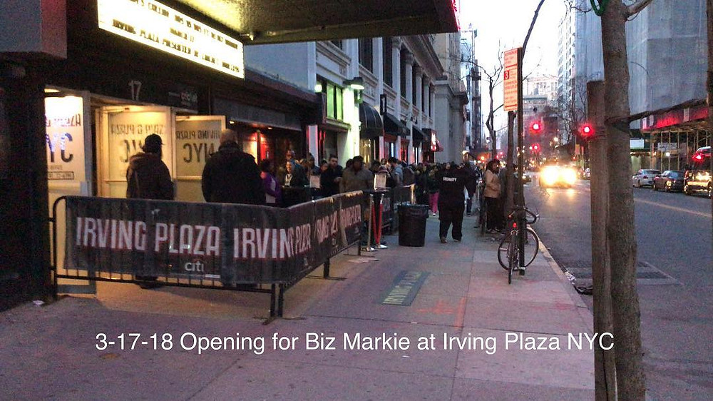 line outside Irving Plaza last night