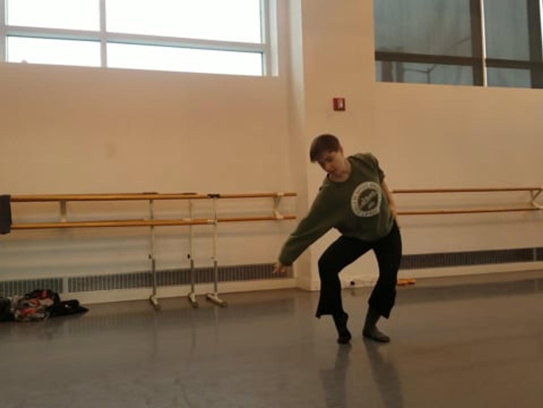 Seymour::dancecollective Rehearsal   Anna's Accumulation