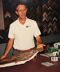 Don Nanney in 1988 when Art Effects first opened.