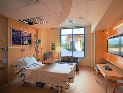 Art Effects Framing produces artwork for hospital guest rooms.