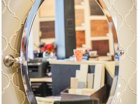 Now offering beveled mirrors.
