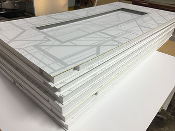 Direct printed matboards for hotel