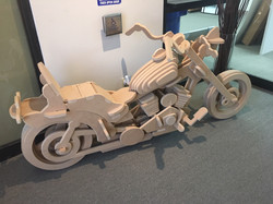 Life Size Motorcycle