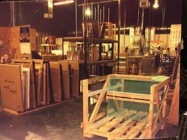 Production floor at Beaver Ridge facility.  Circa 2002.