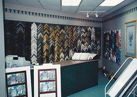 Art Effects front end small showroom.  Circa 1992.