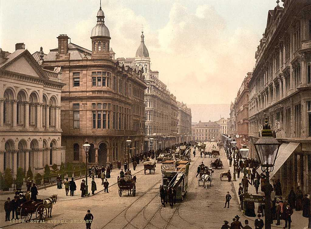 Co Antrim, Belfast, Royal Avenue 1900's.jpg