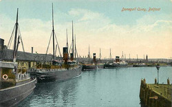 Co Antrim, Belfast, Donegall Quay