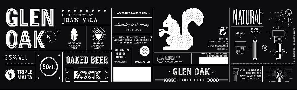 glen oak label