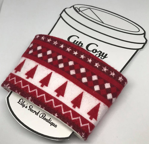 Holiday Coffee Cozy