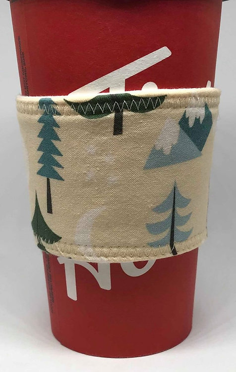 Mountain Coffee Cozy