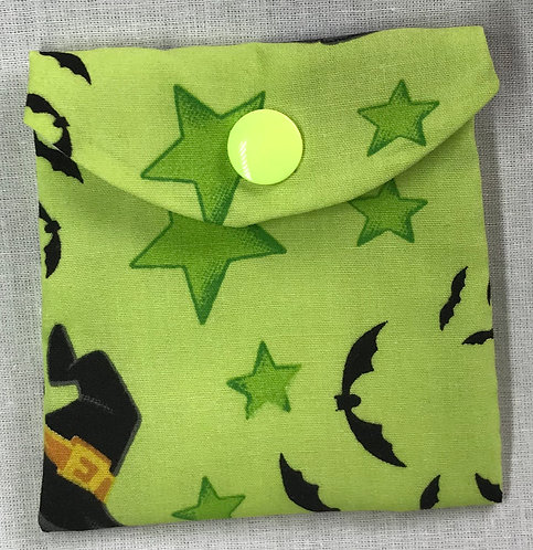 Witch Hat Reusable Snack Bag