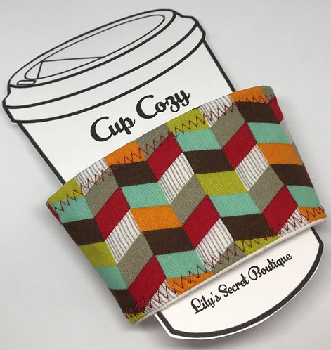Chevron Coffee Cozy
