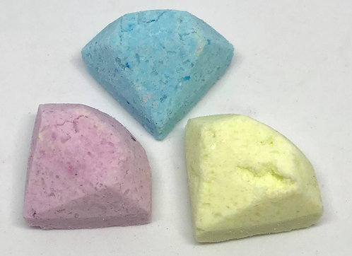 Floral Scented Diamond Bath Bombs