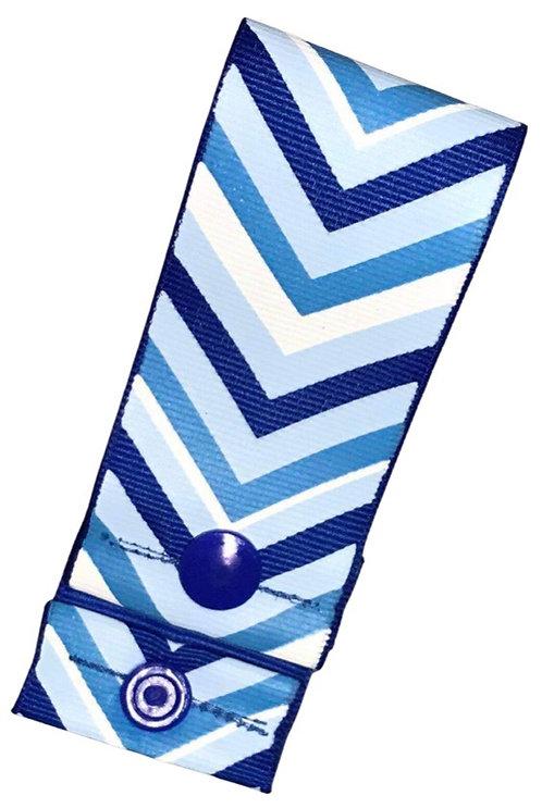Blue Chevron Pad Hanger