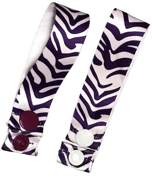 Purple Zebra Pad Hanger