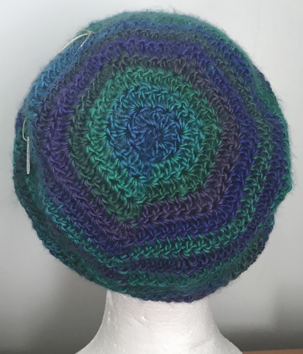 Dragonfly Ripples Slouchy Beanie