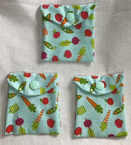 Veggies Reusable Snack Bag