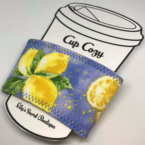 Lemon Coffee Cozy
