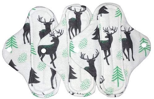 8 inch Grey Deer Cloth Pad