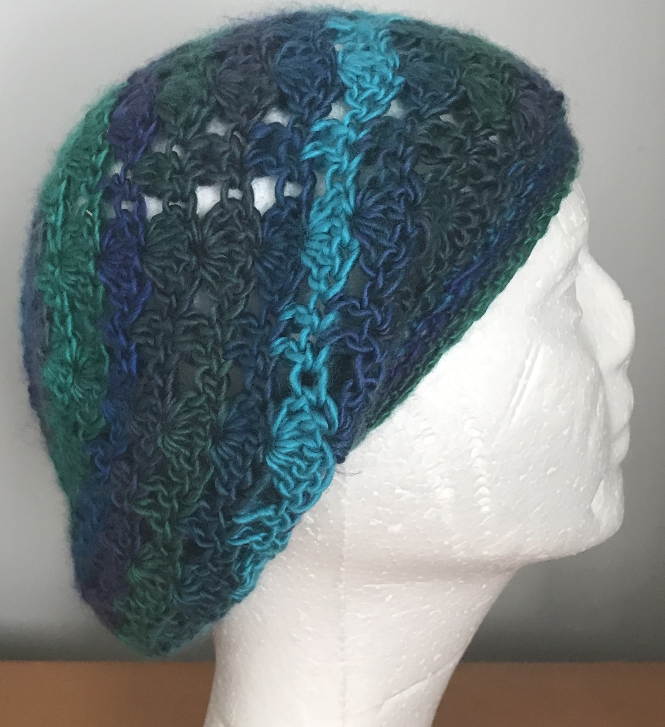 Thumbnail: Dragonfly Lacy Slouchy Beanie