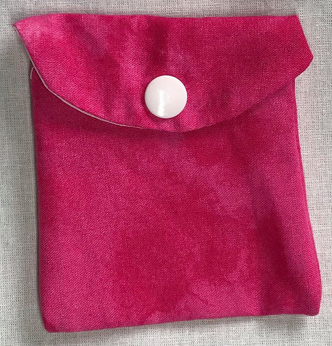 Pink Marble Reusable Snack Bag