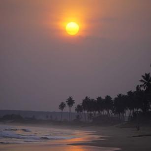 Hazy Sunset @ Apam
