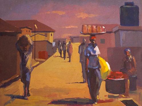 Evening in Ife Ife