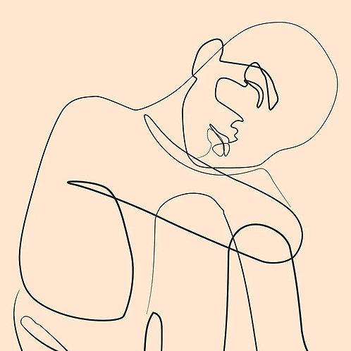 Nude Contemplation