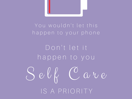 Why is Self Care so important?