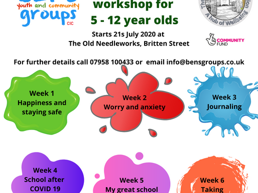 Back to school Workshops