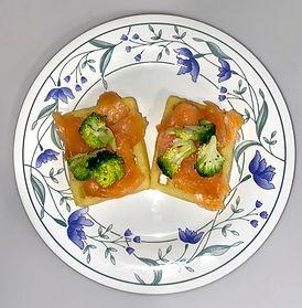 Smoked Salmon & Waffles