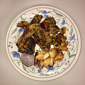 Parsley Lamb Chops