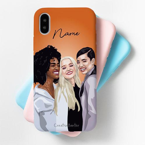 Group Custom Illustrated Flexi Case