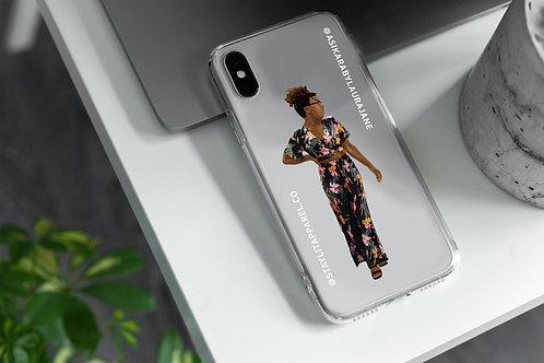 Faceless Clear Case Custom Illustrated
