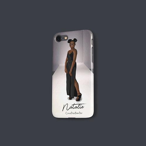 Faceless Snap Case - Custom Illustrated