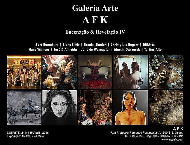 Encenação e Revelação IV - Exposição Fotografia - Galeria de Arte AFK, Lisboa