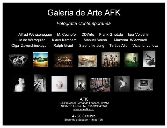 Exposição de Fotografia. Galeria de Arte AFK