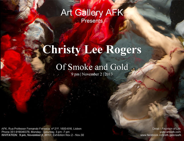 Photography Exhibition |  Christy Lee Rogers | Of Smoke and Gold