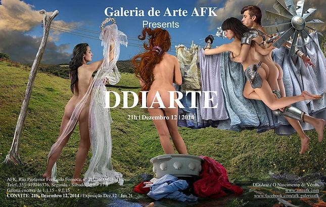 Exposição Fotografia. DDiArte. Galeria de Arte AFK