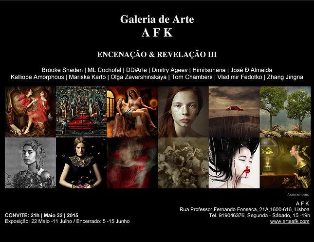 Exposição Fotografia. Galeria de Arte AFK, Lisboa