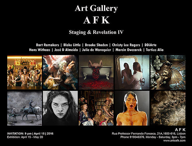 Art Gallery AFK - Lisbon - Staging and Revelation IV - Fine Art Photography