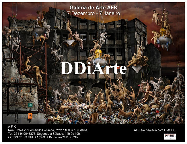 DDiArte. Photography Exhibition. Art Gallery AFK, Lisbon