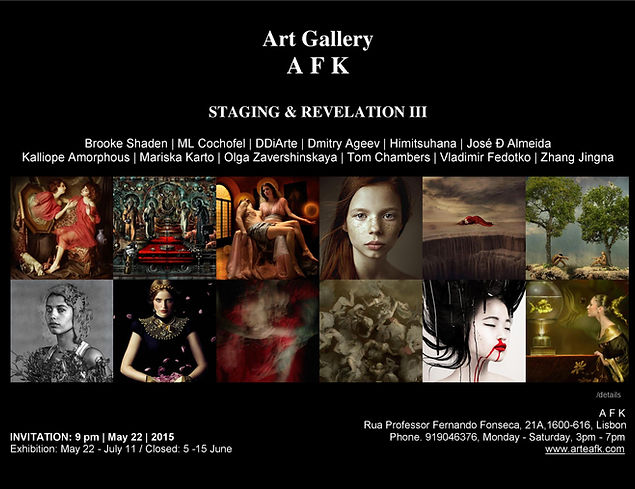 Photography Exhibition | Staging and Revelation III | Art Gallery AFK, Lisbon