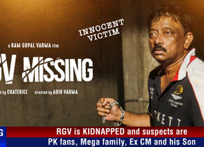 RGV Missing Movie First LOOK POSTER
