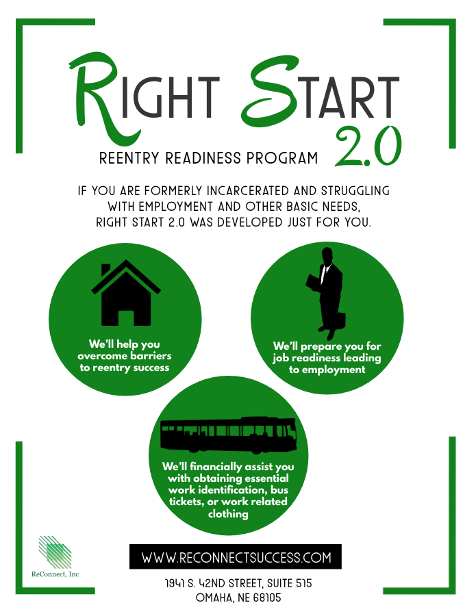 reconnect inc, reentry omaha
