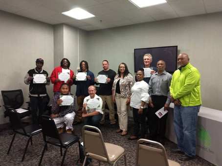 Another Successful Year for Tool Box Credentials Training Program!