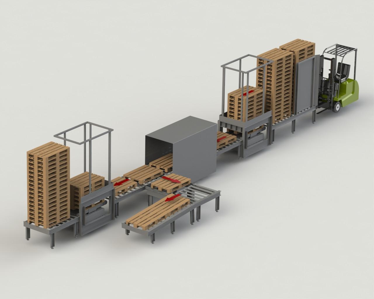 Movimentazione e trasporto Pallet