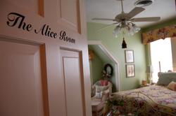 Alice Room - door