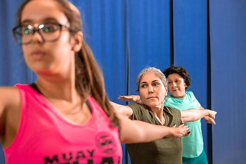 aula de ginastica, Academia Aquatitude 2